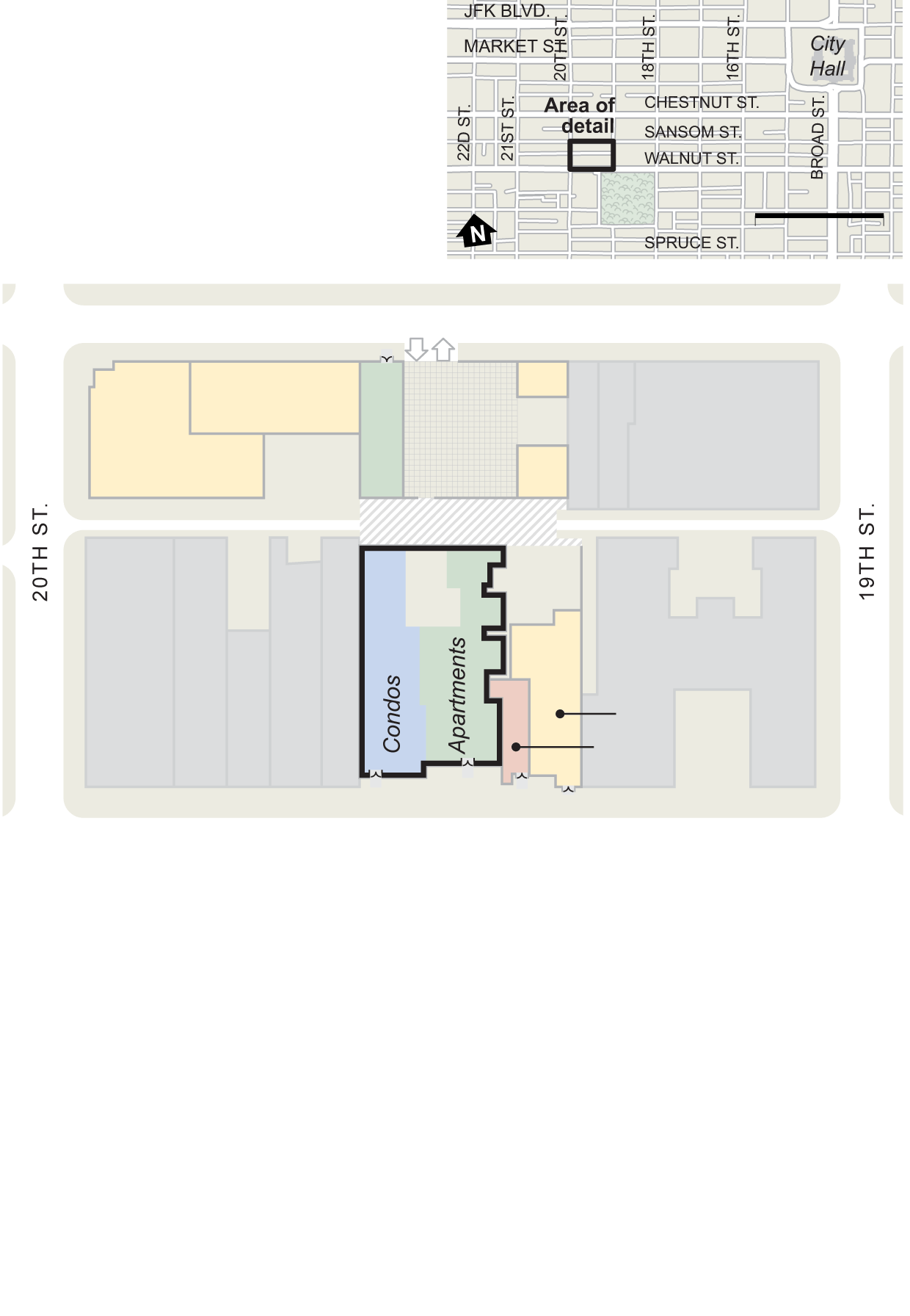 ground floor plans for 1911 walnut philadelphia inquirer