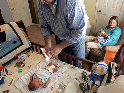 Mostly, this topic is of real interest to parents with newborns, but poop issues come out at other milestones in a child's life, namely starting solid foods and potty training. (AP Photo / Donna McWilliam)