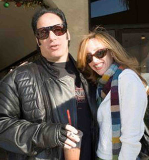 Andrew Dice Clay and comedian Eleanor Kerrigan, his South Philly raised former fiancee.