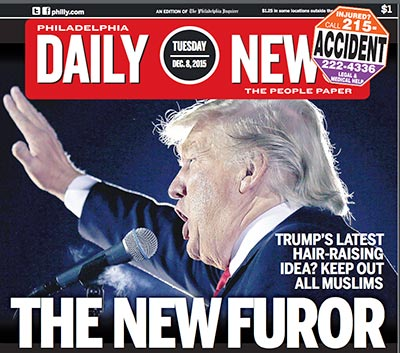Today´s Daily News cover