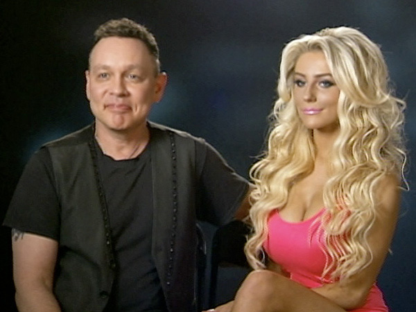 "Doug Hutchinson and Courtney Stodden on VH1´s ""Couples Therapy."""