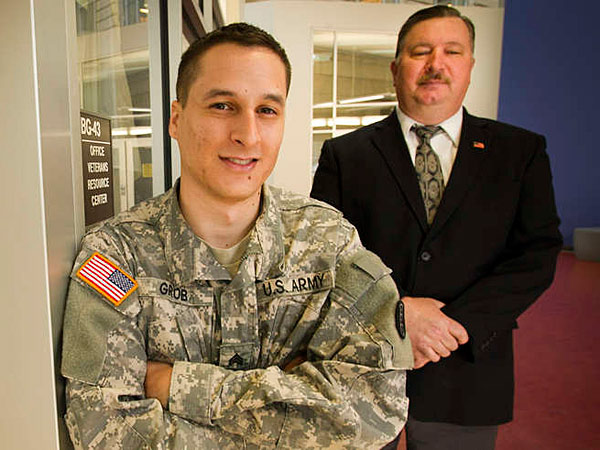 <b> Military </b>  vets find relationships, future with Community University of Philadelphia