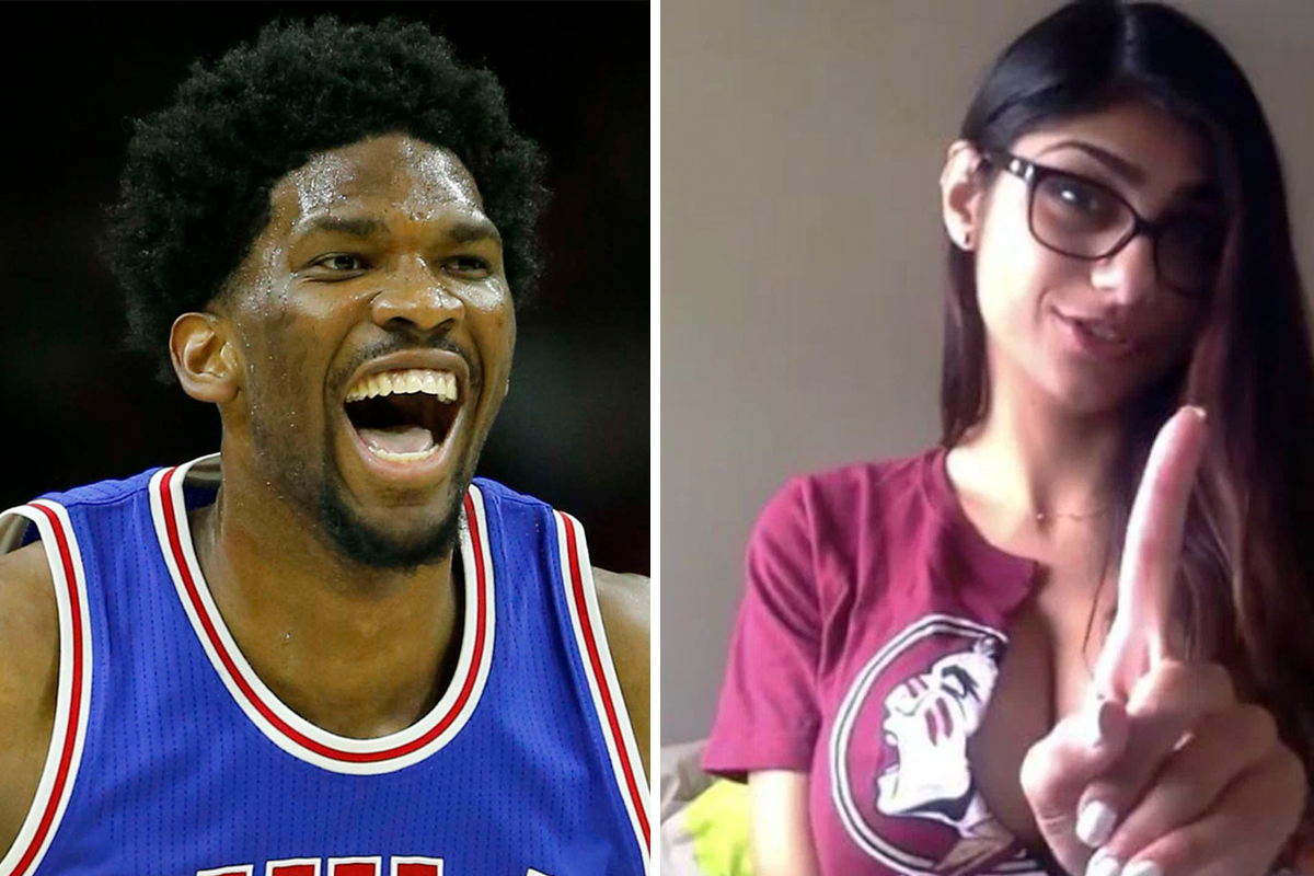 philly blogs sports sixers insram spat with porn star perfect example joel embiids swagger