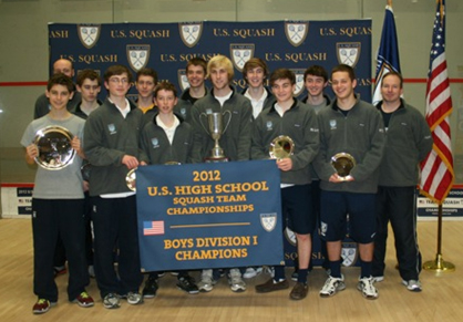 Front row:  Will Ruggiero, Clark Doyle, Sean Hughes, Tyler Odell, Devin McLaughlin, Andrew Stone. Back row:  Coach Russell, Jamie Ruggiero, John Heil, Billy Kacergis, Patrick McCarthy, Kevin Flannery, Coach Brian Callahan.<br /><br />