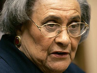Essie Mae Washington- Williams in 2005.