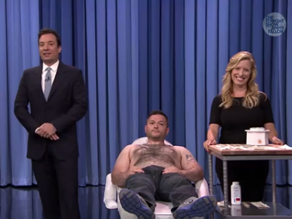 Philly Comedian Gets His Chest Waxed On The Tonight Show