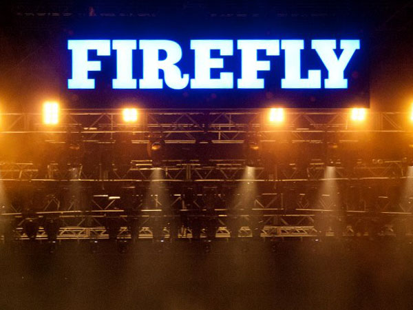 The Main Stage at Firefly Music Festival