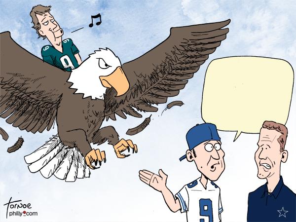 Nick Foles Tony Romo Eagles Cowboys