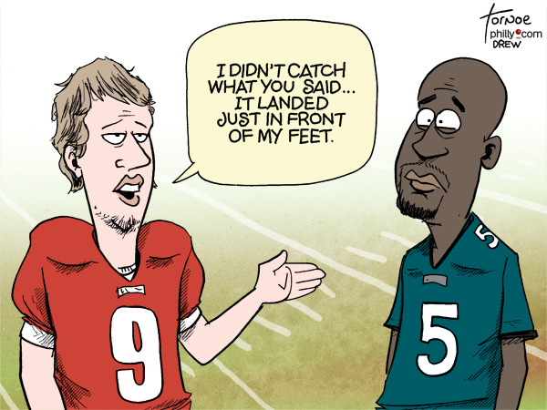 Nick Foles Donovan McNabb Eagles
