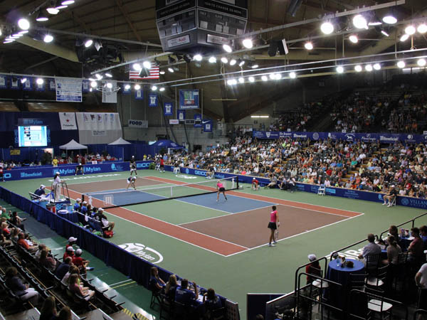 The Philadelphia Freedoms will feature promotions like Girls Night Out, a fashion show with Venus Williams and more starting this week. (Photo courtesy Comcast Spectator)