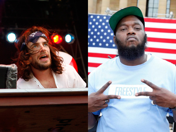 Girl Talk and Freeway are working on a forthcoming collaborative EP.