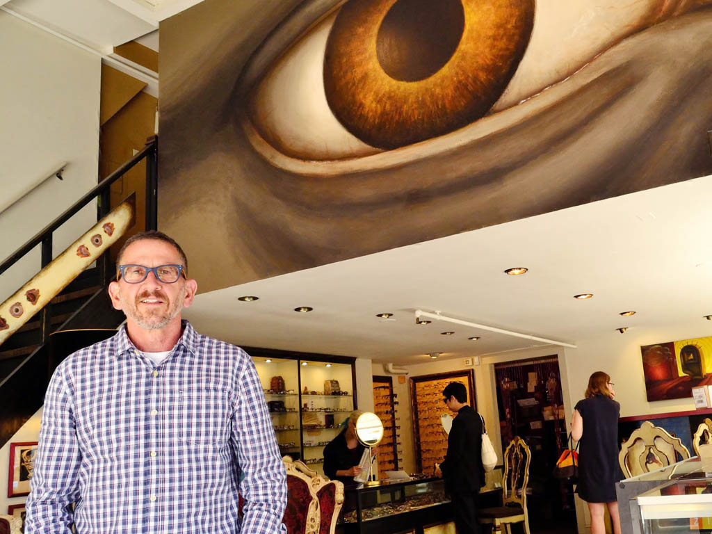 Owner of Modern Eye, Chris Anastasiou, has recently been named one of the top three independent optical business by INVISION magazine.  Friday, July 18, 2014.