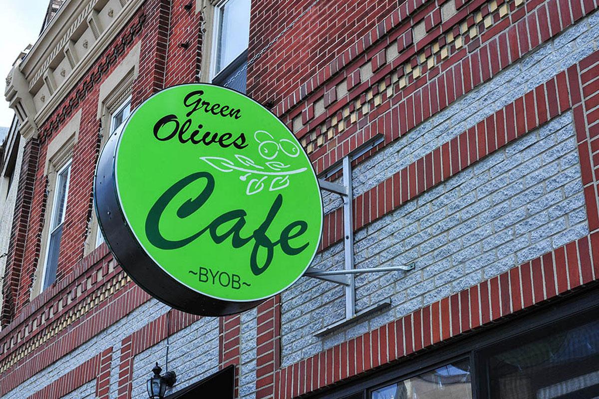Green Olives Cafe.