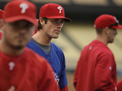 Cole Hamels starts Game 1 for the Phillies against the Dodgers Thursday night. ( David Maialetti / Staff Photographer)
