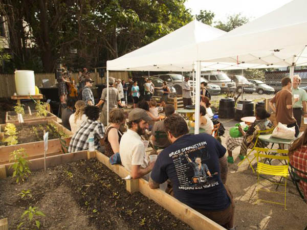 The Dirt Factory as a community space has already drawn crowds.