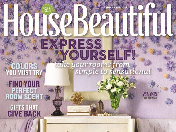 """House Beautiful"" magazine cover."