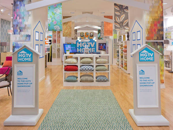 Inside the HGTV Pop-Up Showroom.