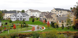 Prices in Chadds Ford, Delaware County, increased 80 percent between 2005 and 2011. Here, the Estates at Chadds Ford development.