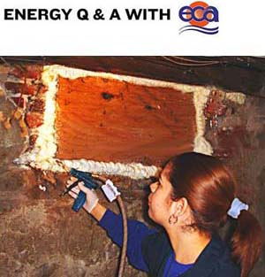 Sealing places where air flows will increase the benefits of insulation.