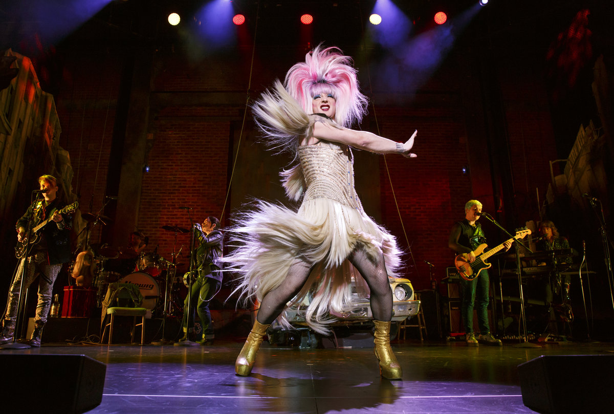 Euan Morton plays Hedwig in the Forrest Theatre production of &quot;Hedwig and the Angry Inch.&quot;<br /><br />