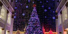 The Macy´s Christmas Light Show in Philadelphia, on Tuesday, Dec. 10, 2013. (Stephanie Aaronson/Philly.com)