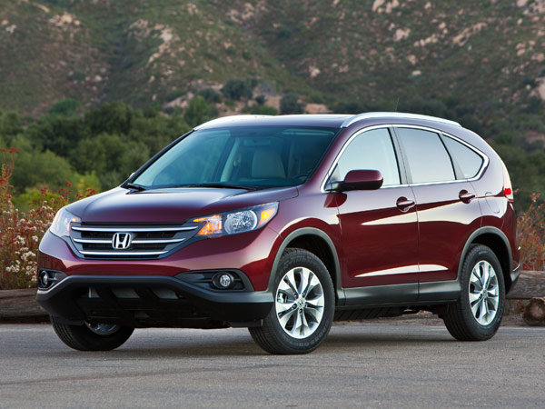 The 2013 Honda CR-V topped KBB´s list of best SUVs.
