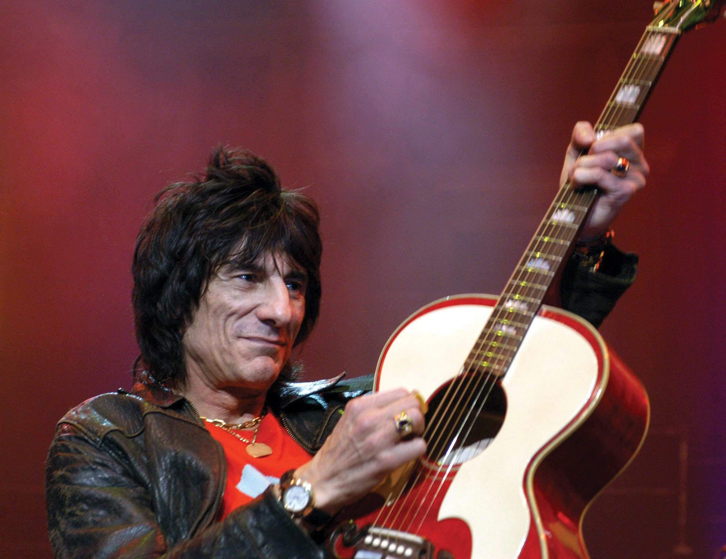 Rolling Stone bassist Ronnie Wood plans to perform at the Golden Nugget in Atlantic City as a favor for friends.<br /><br />BRIAN RASIC / Rex features