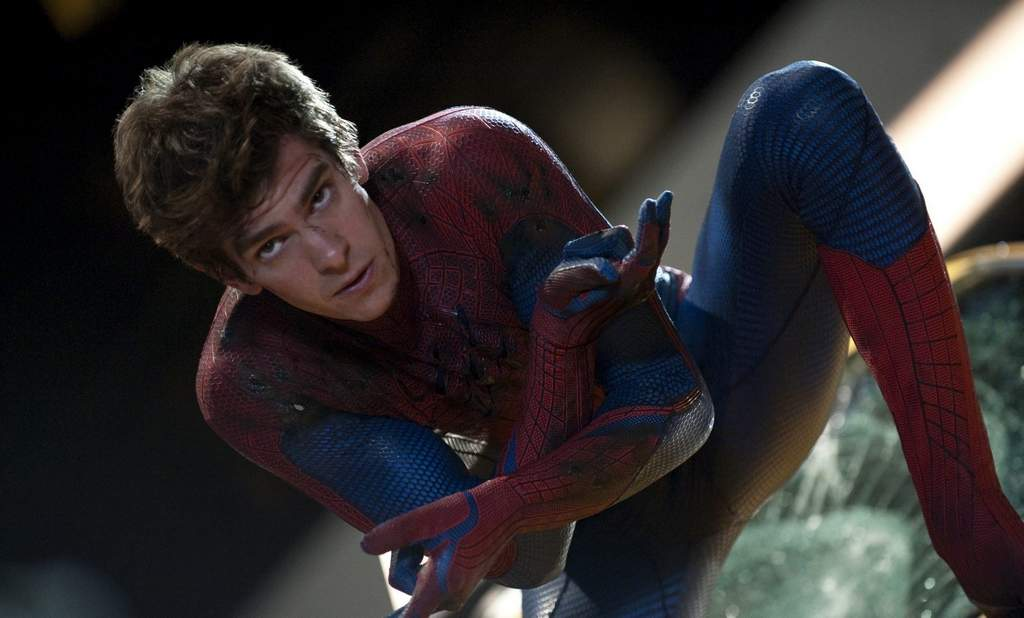 """Andrew Garfield takes over for Tobey Maguire in """"The Amazing Spider-Man."""""""
