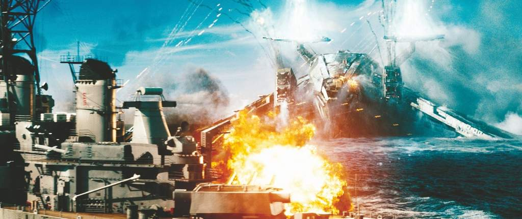 A naval ship is attacked by an invader in the film, which is based on the board game. <br /><br />ASSOCIATED PRESS