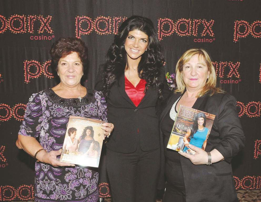 &amp;ldquo;Real Housewives of New Jersey&amp;rdquo; star and  author Teresa Giudice (center) was joined by her mother, Antonia Gorga (left) and her mother-in-law, Filomena Giudice (right) on Friday at Parx Casino.<br /><br />parx casino
