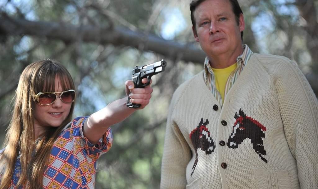 Joel Murray (right) acquires a partner, Tara Lynne Barr, during his killing spree.<br /><br />ASSOCIATED PRESS