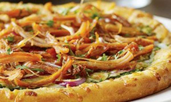 Habanero Carnitas Pizza from California Pizza Kitchen.