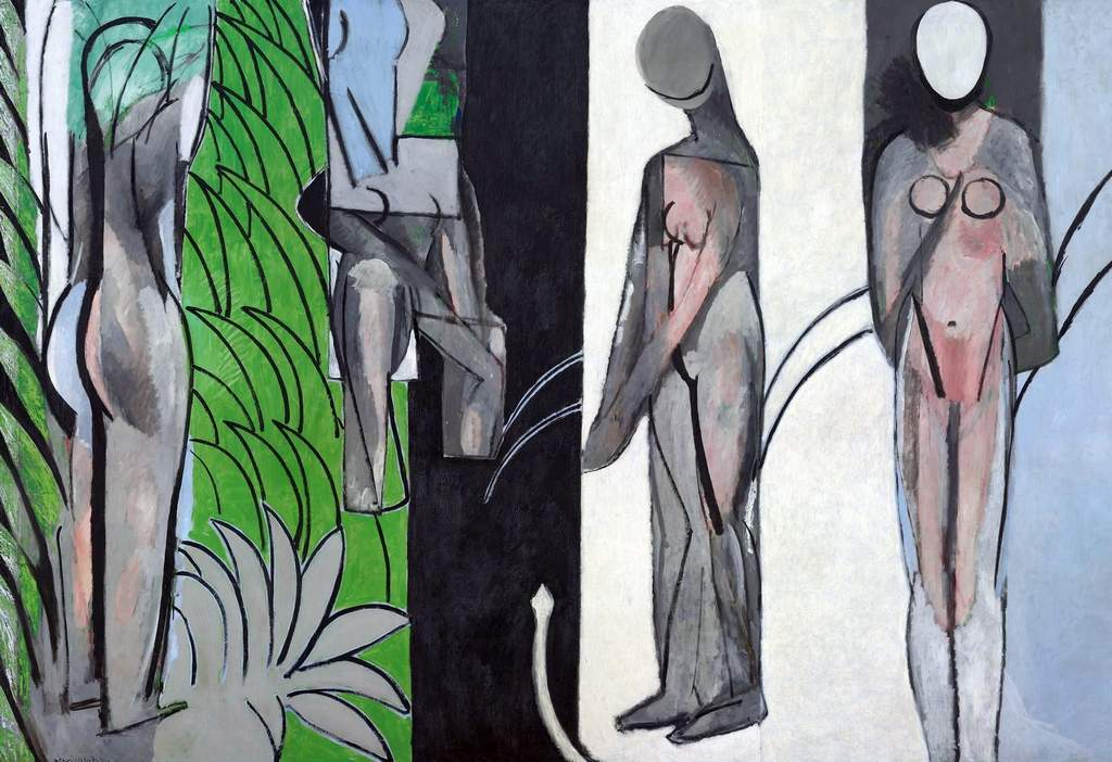 """Bathers by a River"" by Henri Matisse: Magnificent pictures in a spectacular 40-work exhibition."