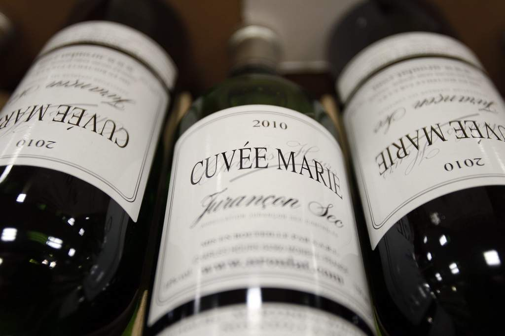 Cuvee Marie, a French white wine.   David Maialetti / Staff Photographer