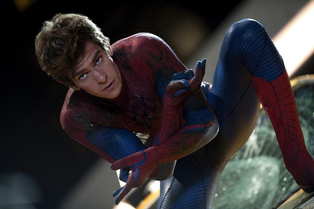 This time around, Andrew Garfield portrays Spider-Man.<br /><br />ASSOCIATED PRESS
