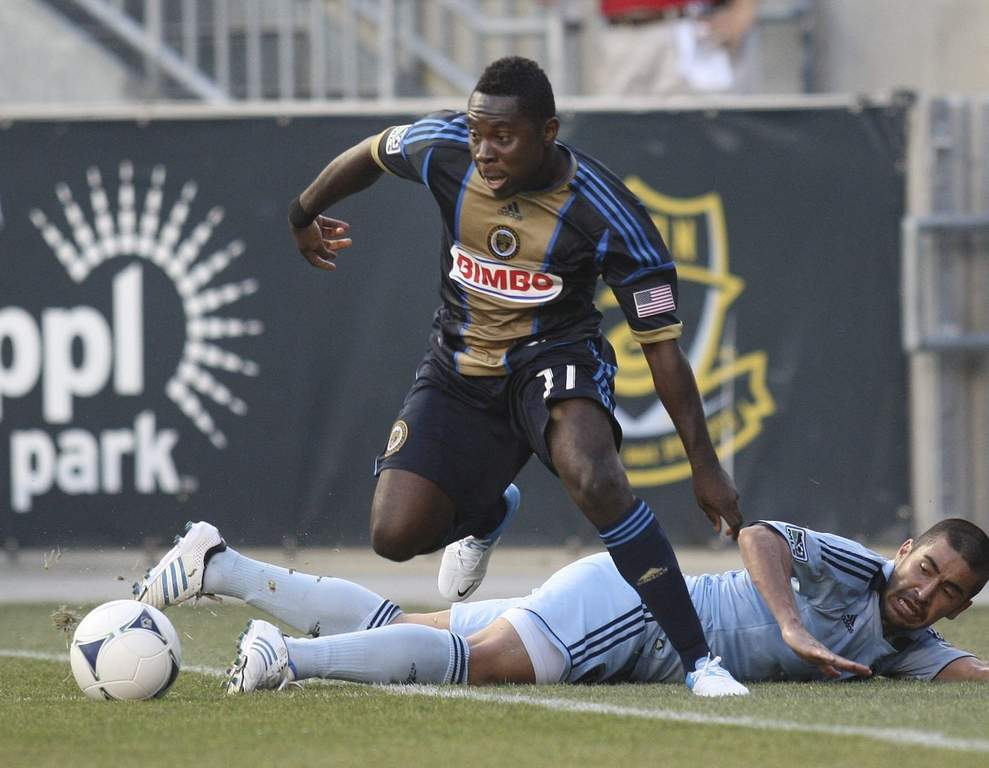 Freddy Adu says he&acute;s older, wiser.<br /><br />STEVEN M. FALK / Staff Photographer
