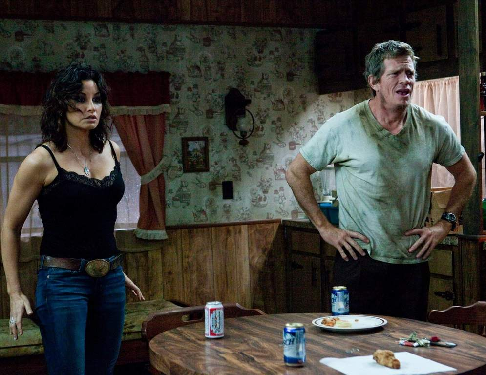 Gina Gershon (left) and Thomas Hayden Church (right) star in the new movie.<br /><br />ASSOCIATED PRESS