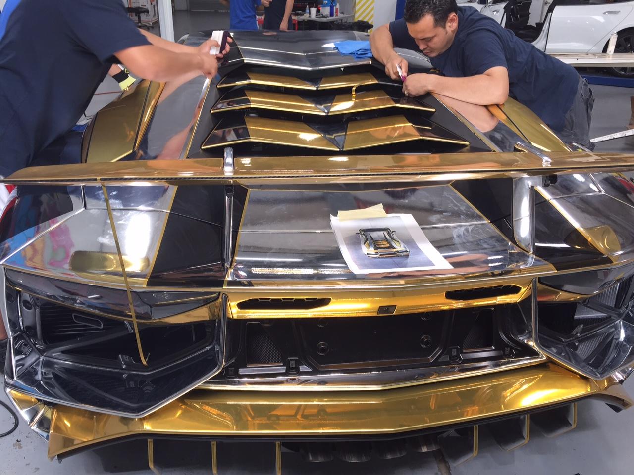 Two Local Teens Design Winning Lamborghini Car Wrap Philly