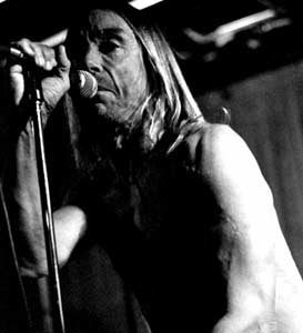 Iggy Pop at the Khyber in 2004. Photo: Paul Havelin