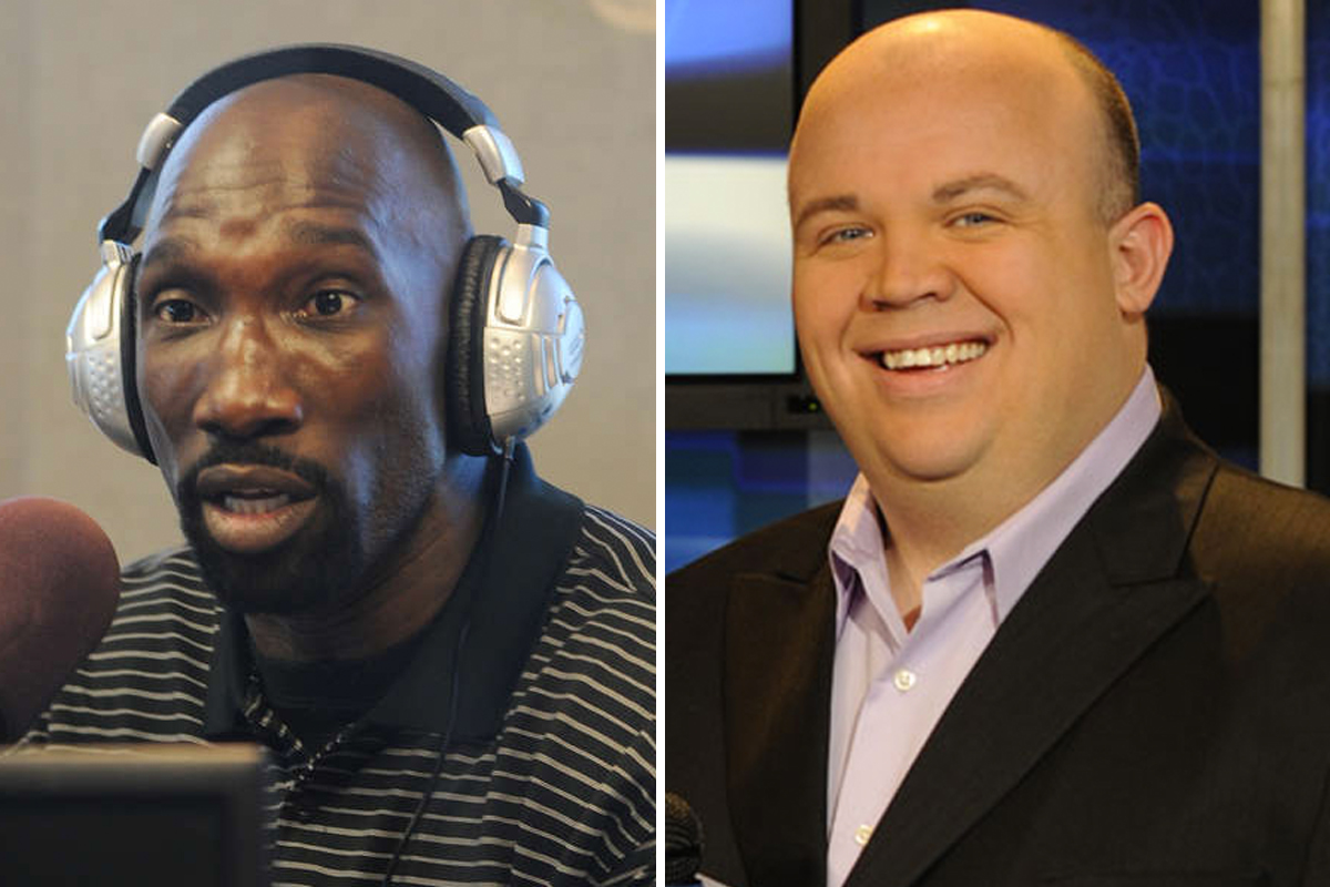 SportsRadio 94.1 WIP appears to have its new afternoon show in place, which will be hosted by former Eagle Ike Reese (left) and former SportsNet New York host Chris Carlin.