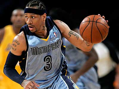 "76ers coach Jordan said his meeting with Allen Iverson was ""intriguing,"" (AP file photo)"