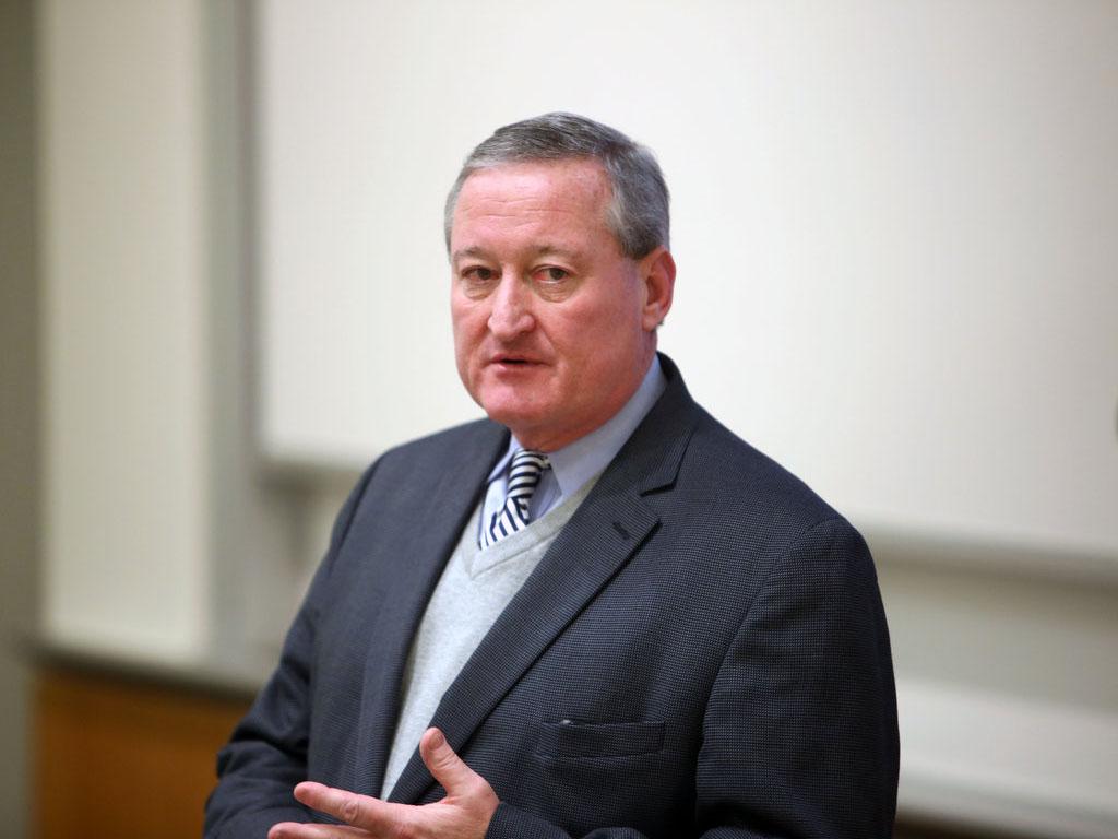 Mayoral candidate Jim Kenney. (Stephanie Aaronson / Staff Photographer)