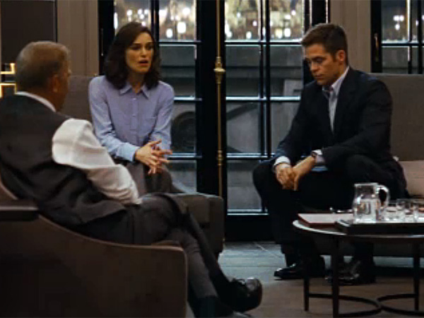 """This is geopolitics, not couples therapy."" (Photo from upcoming ""Jack Ryan"" film)"