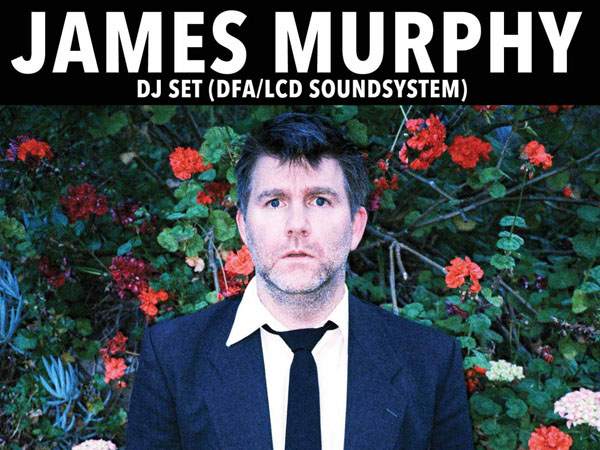 James Murphy will DJ at The Lodge at Waterfront Winterfest.