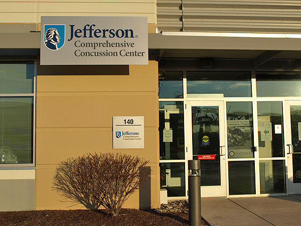 The Jefferson Comprehensive Concussion Center at the Navy Yard.
