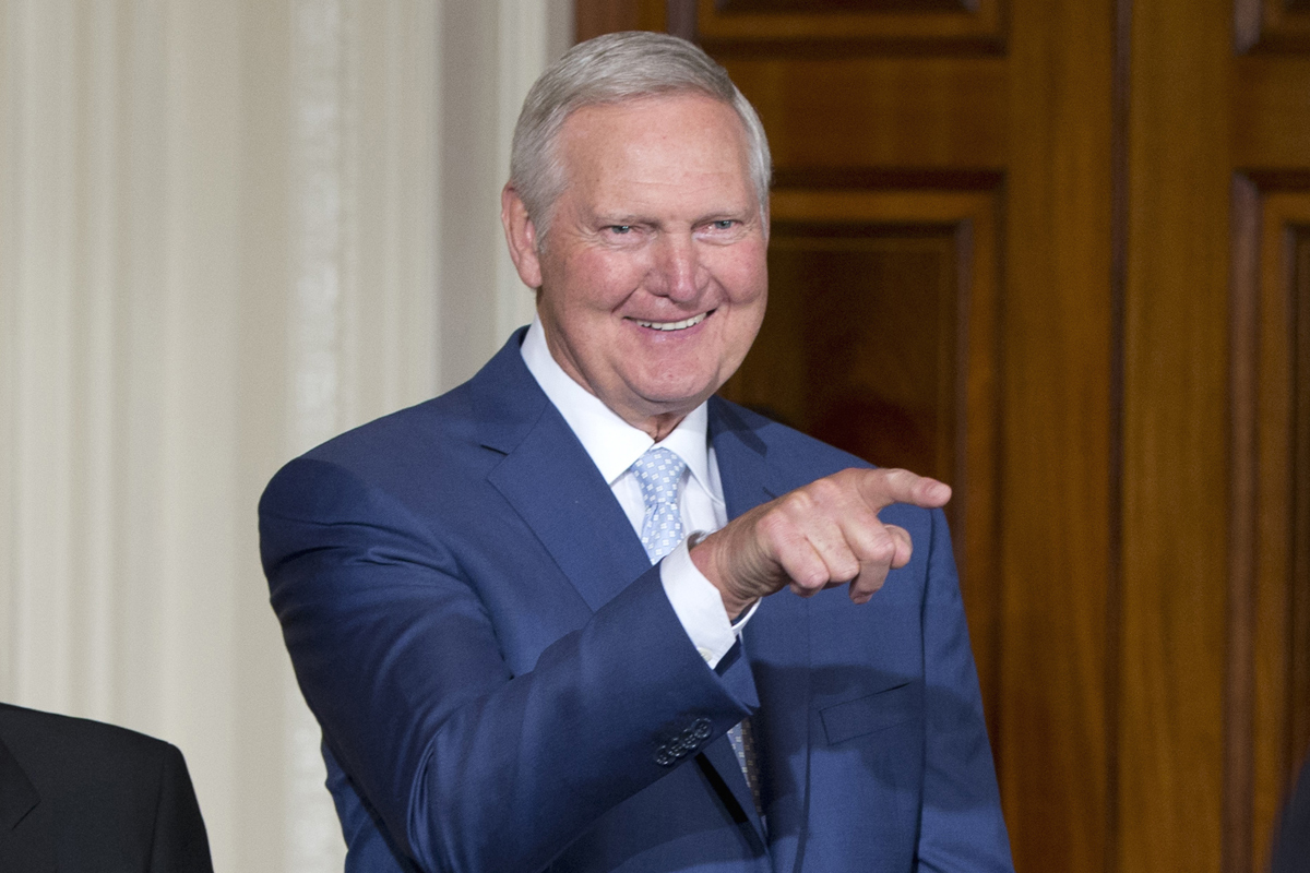 Jerry West doesn t want to be on the NBA logo anymore