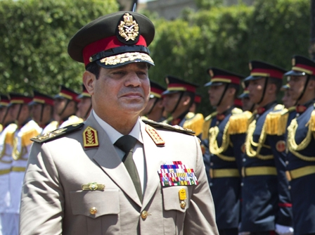 Gen. Abdel-Fattah el-Sisi (JIM WATSON / Associated press)