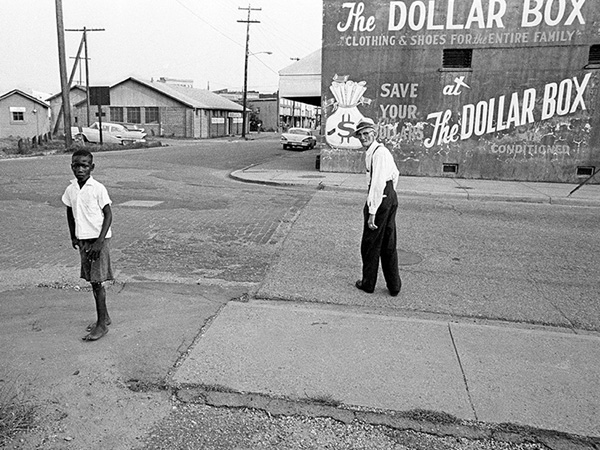 """Dollar Box"" by Joel Katz, taken summer of 1964 in Mississippi."