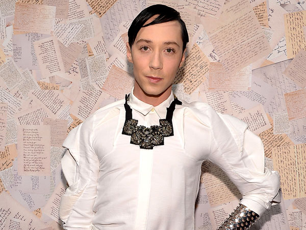 Retired figure skater Johnny Weir.