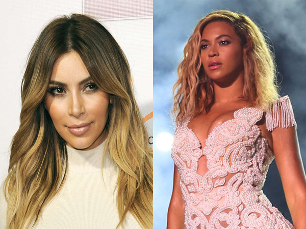 Kim Kardashian (left) and Beyoncé (right) top list as most search people of 2013.
